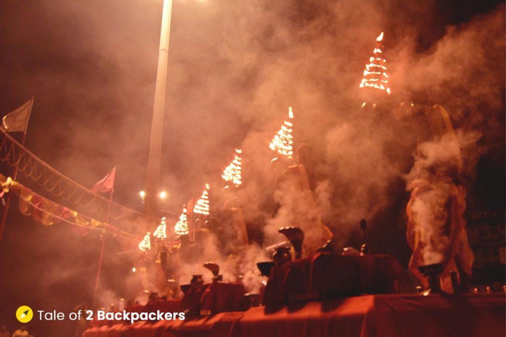 Ganga Aarti at Subh-e-Banaras at Assi Ghat