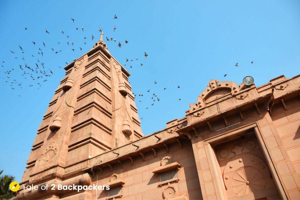 Mulgandha Kuti Vihara built by the Mahabodhi Society in Sarnath.