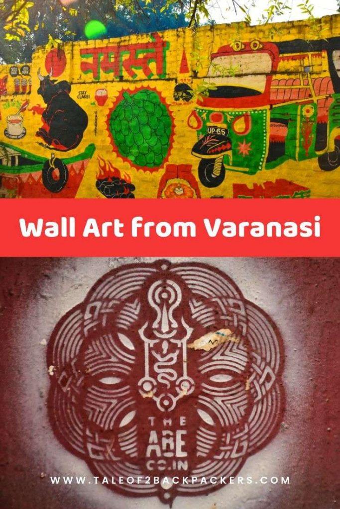 Street art of Varanasi