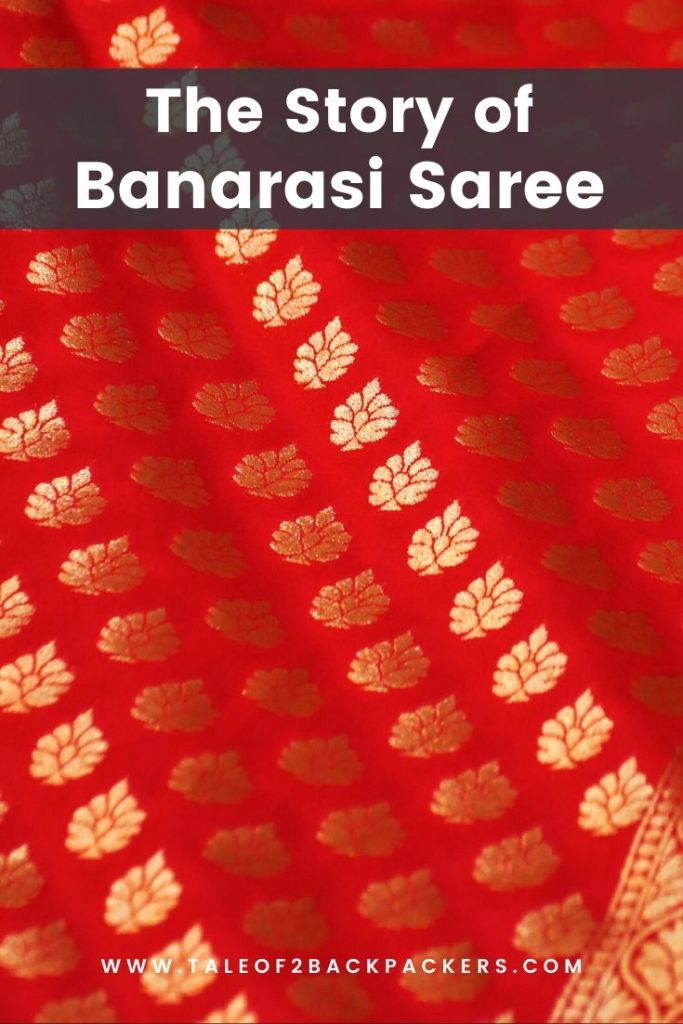 The story of Banarasi saree - pinterest