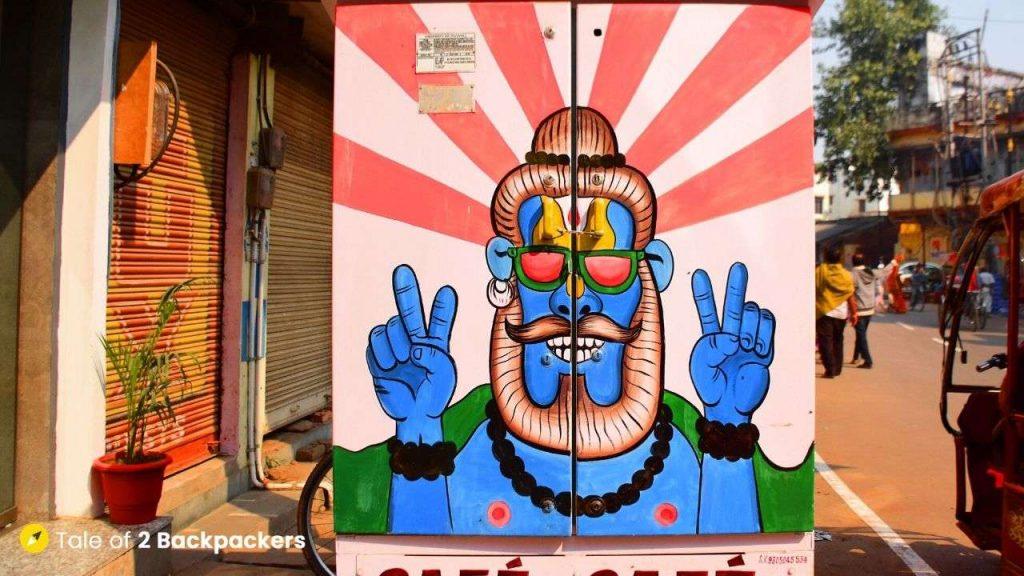 Varanasi Street Art