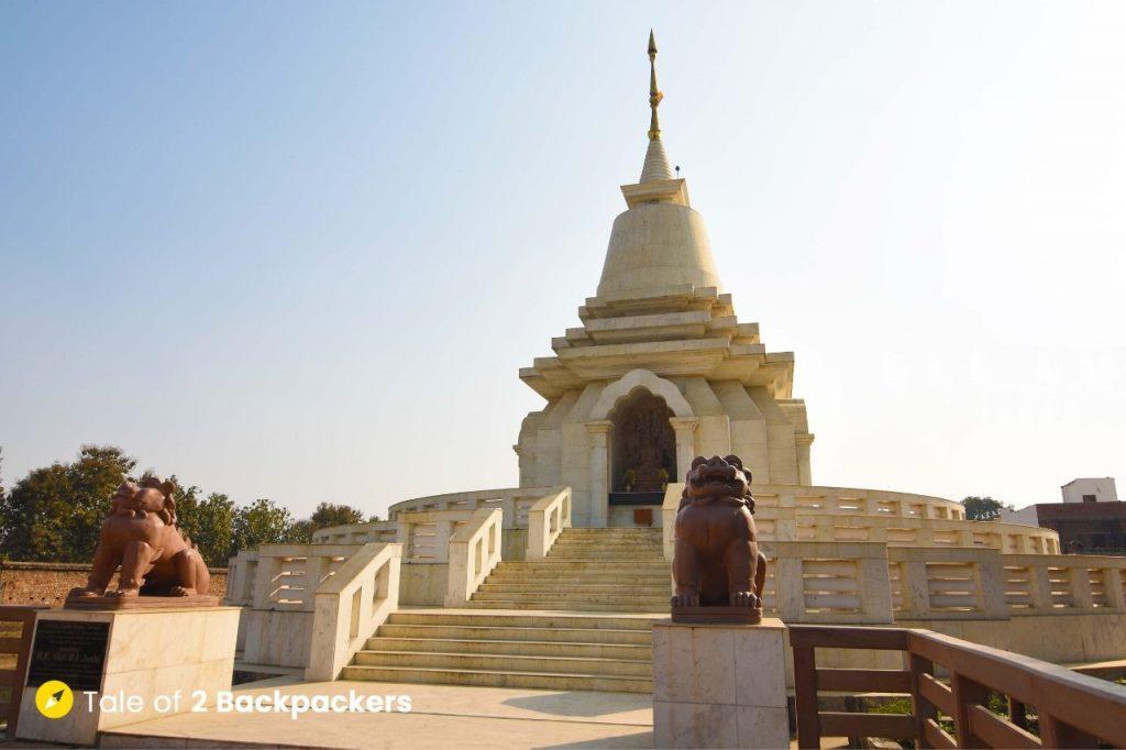 Vishwa Shanti Stupa at Sarnath