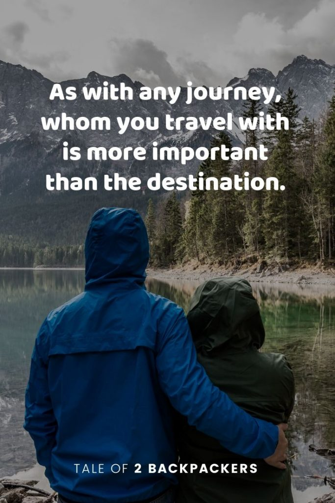 Travel with friends quotes - As with any journey, whom you travel with is more important than the destination. #travelquotes #friendshipquotes