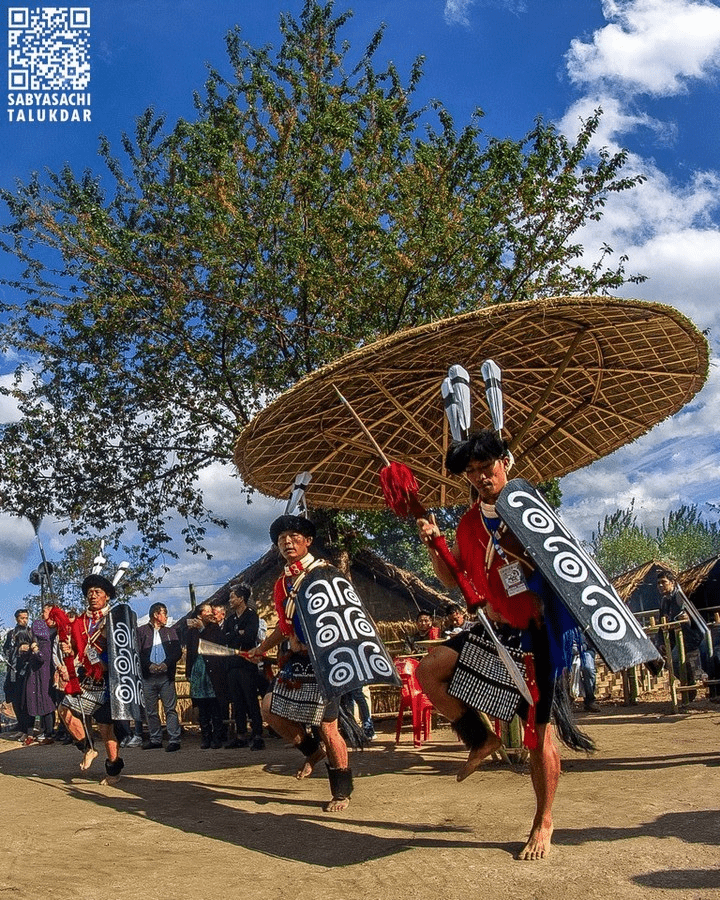 Folk dance performance at Festival of Festivals - Nagaland Tourism