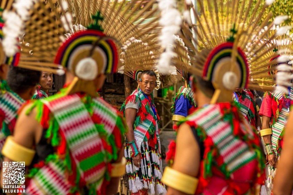 Tribes at Hornbill Festival in Nagaland