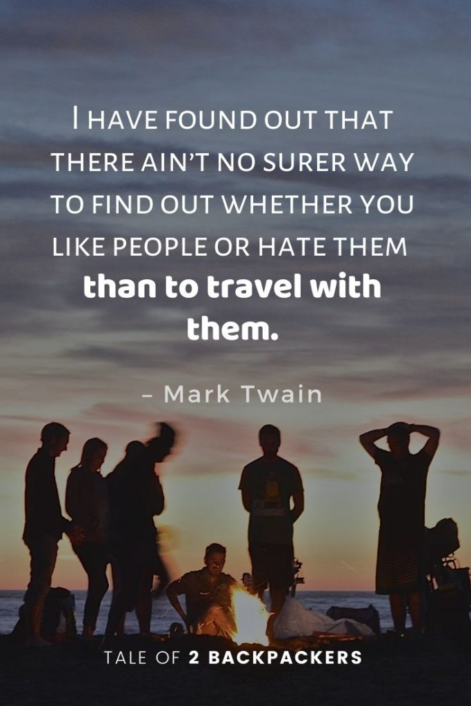 Mark Twain travel quotes