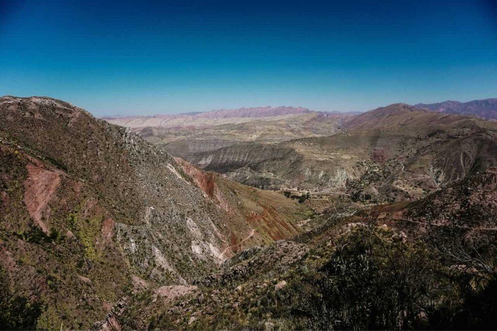 Inca Trail in Sucre, Bolivia