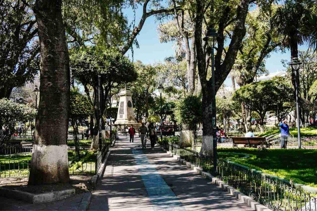 Main Square at Sucre, Bolivia