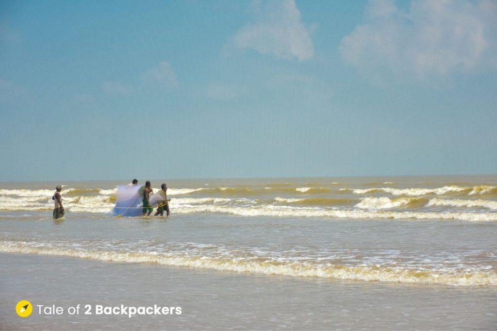 The Sea at Baguran Jalpai