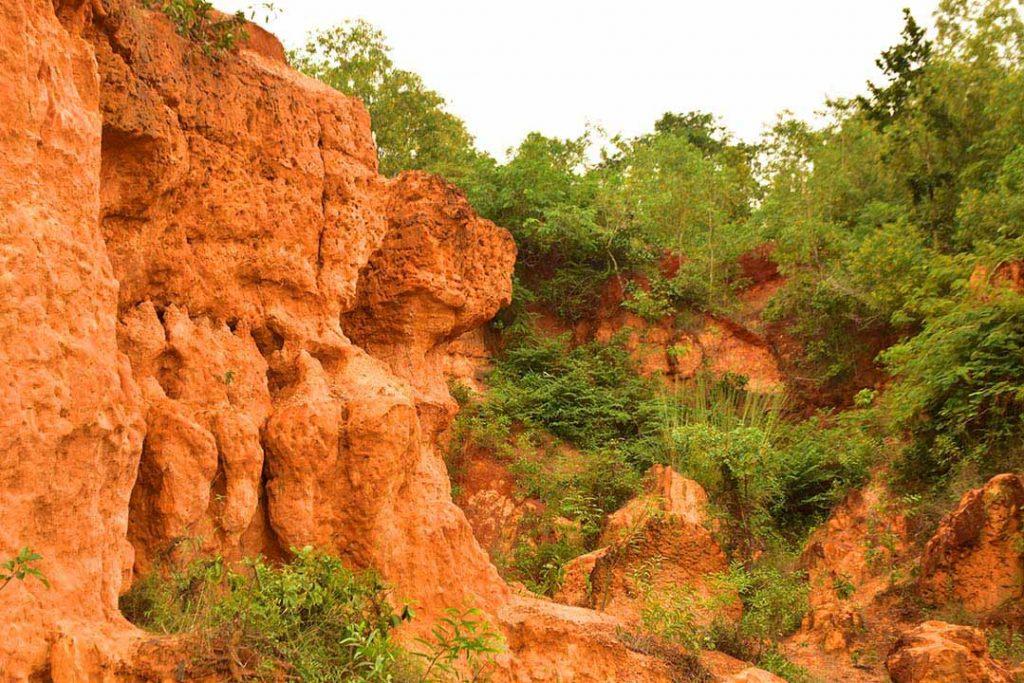 The gorges of Gangani