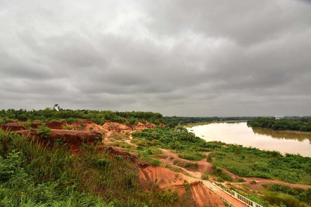 View of Silabati River