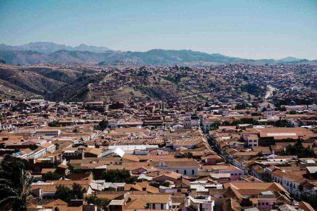 View of Sucre