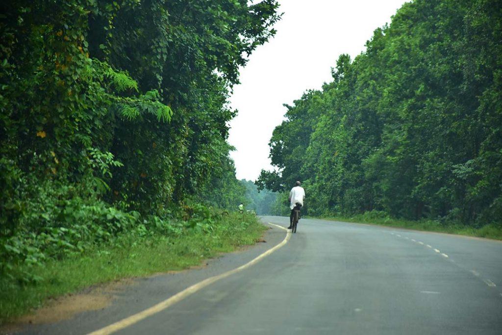 Road towards Gangani