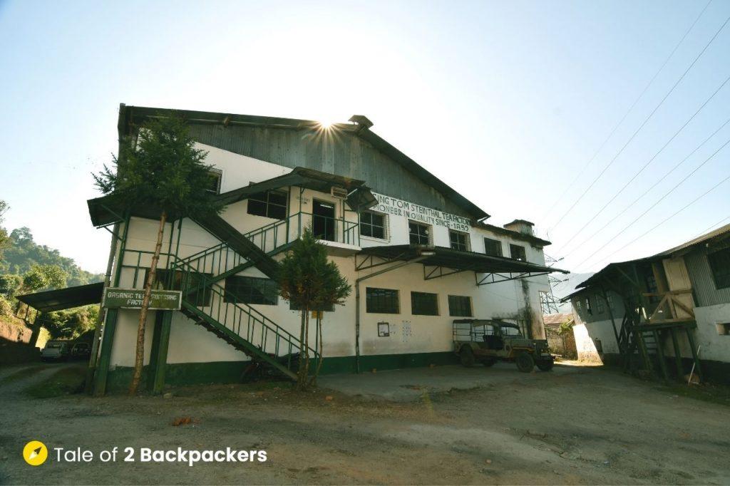 Factory at Singtom Tea Estate and Resort