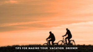 Tips for making your next vacation more green