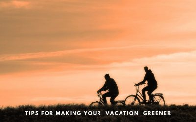 5 tips for making your next vacation more green