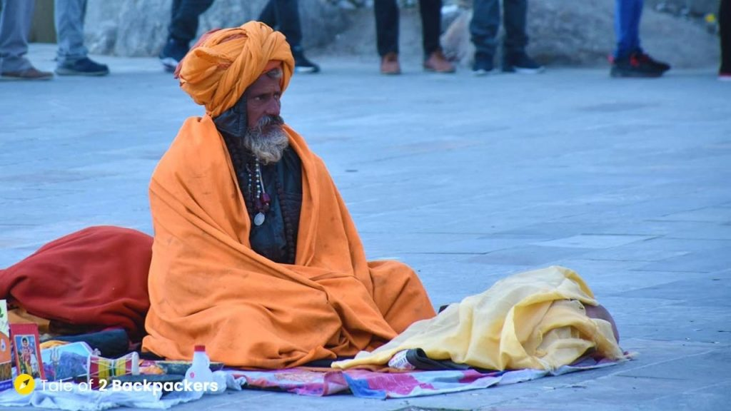 A Sadhu at Kedarnath