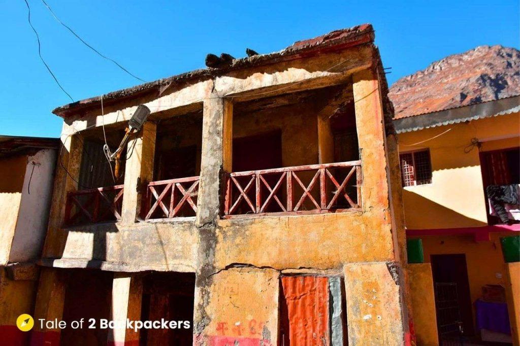 Houses at Mana Uttarakhand