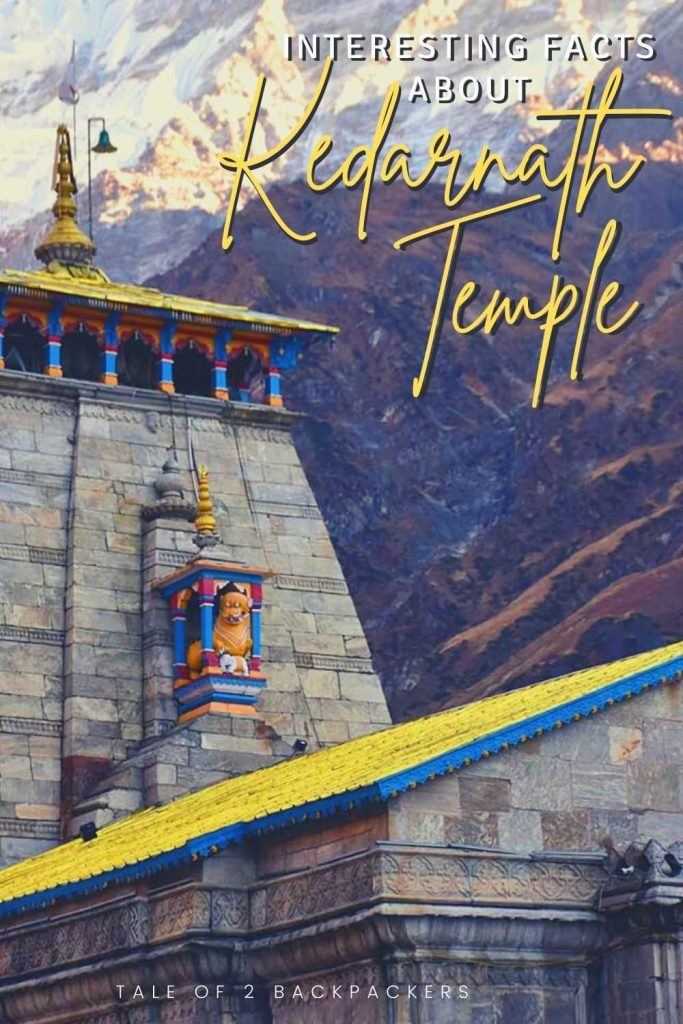 Interesting Facts about kedarnath Temple