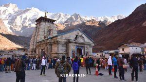 Kedarnath Trek- Kedarnath Temple at Chardham Yatra