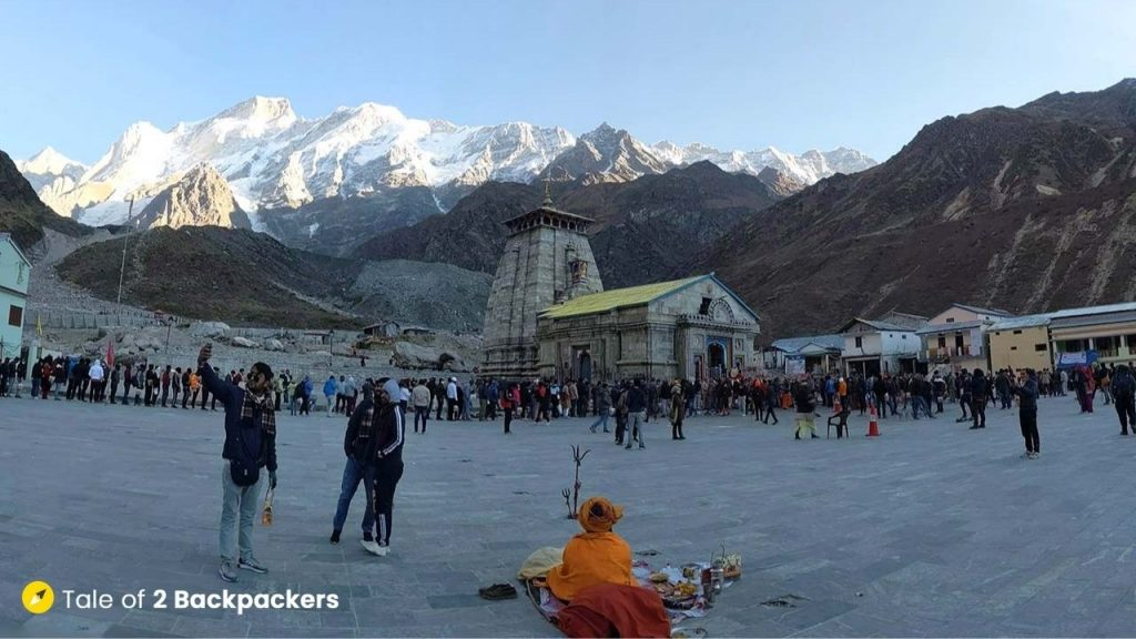 View of Kedarnath Temple