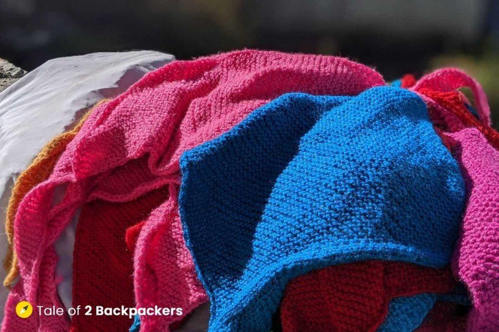 Woollen handloom at Mana