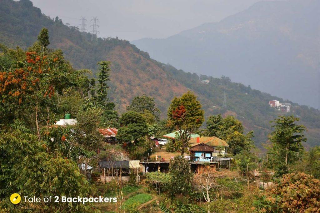 Chalamthang village in South Sikkim - an offbeat weekend destination from Kolkata