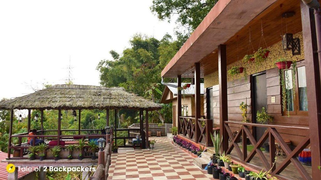 Heritage rooms at Chalamthang