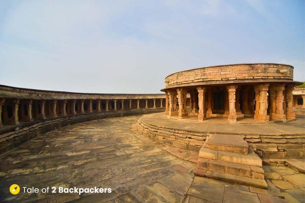 Inside the Chausath Yogini Temple - Madhya Pradesh Tourism