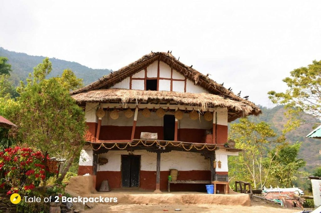 Traditional Limboo Heritage House at Chalamthang Sikkim