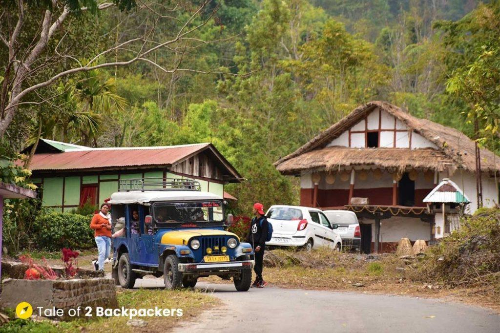 Road at Chalamthang