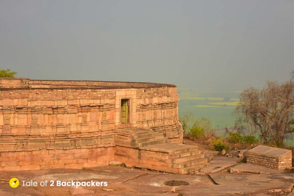 View of Surroundings at Chausath Yogini Temple