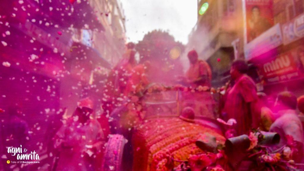 A riot of colours at Rolls Royce Holi in Kolkata - Burrabazar is looking like Vrindavan
