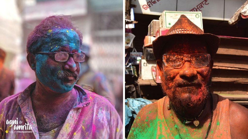 Faces of Holi