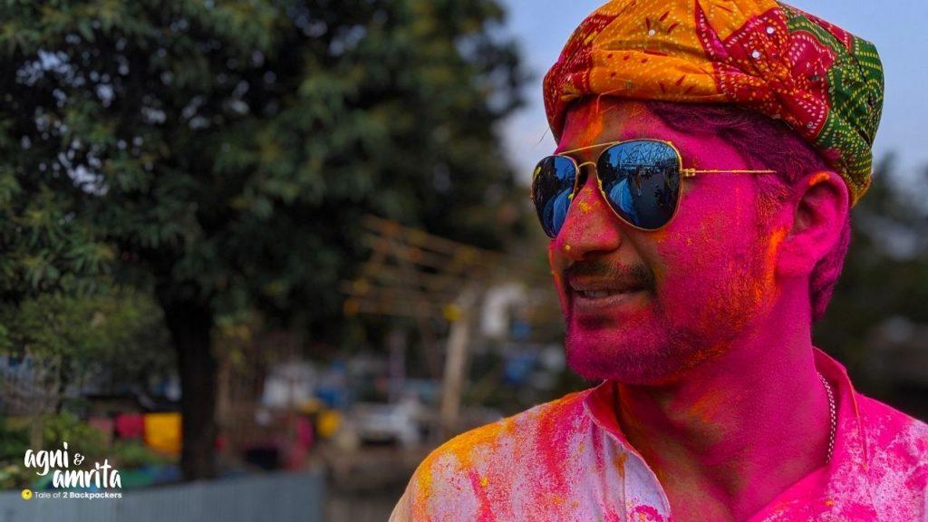 Faces of Holi in Kolkata