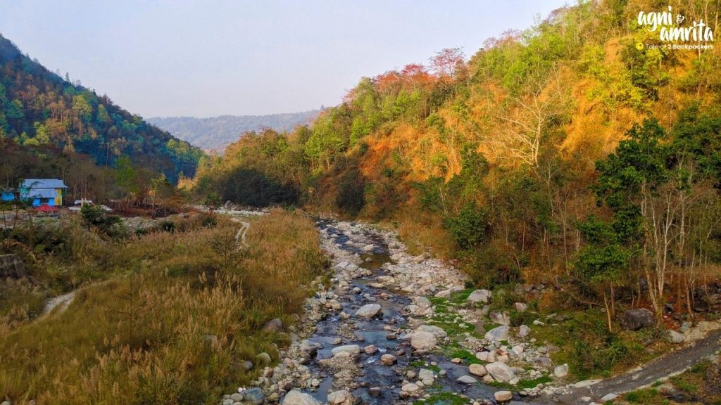 Relli River at Bidyang - offbeat places to visit in North Bengal