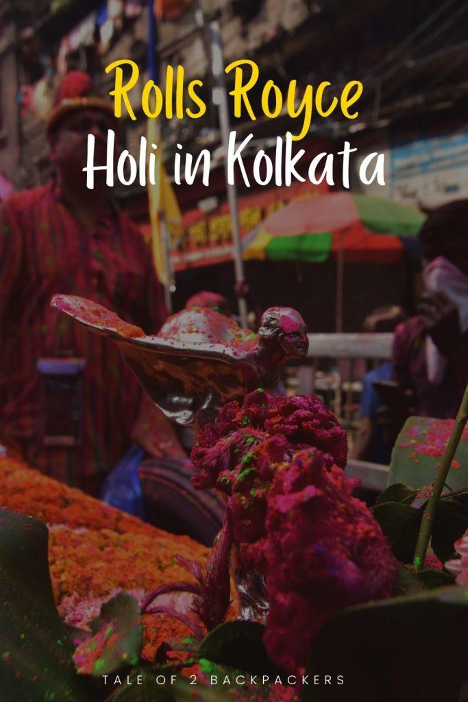 Rolls Royce Holi Celebration in Kolkata