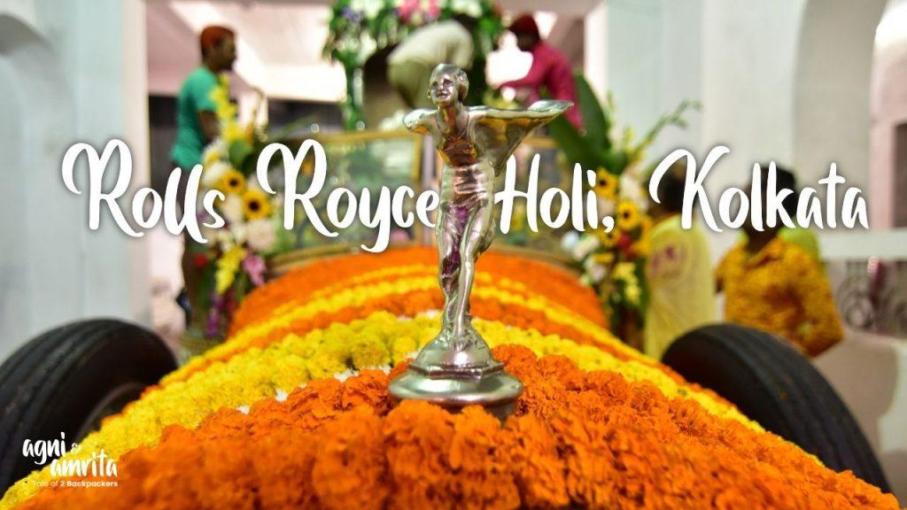 Vintage Rolsl Royce in Kolkata
