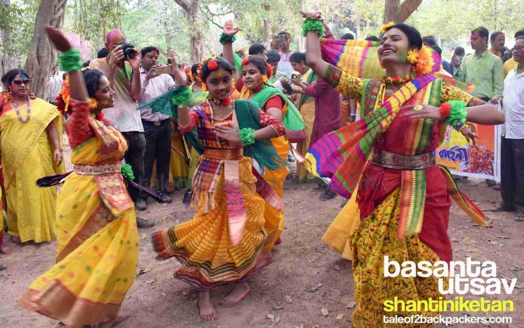 Basanta Utsav Celebration in Shantiniketan