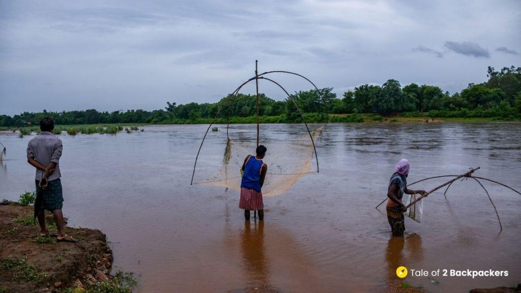 Fishing at Buribalam River