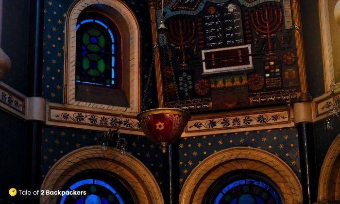 Half dome at Magen David Synagogue