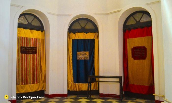Interiors of Neveh Shalome Synagogue