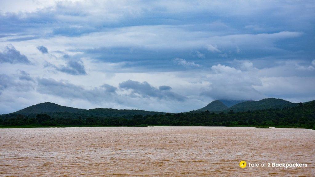 Reservoir at Bankbal Dam, Odisha