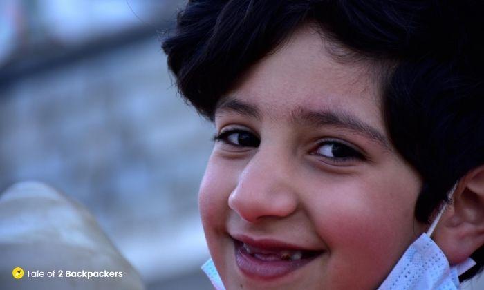 A little boy we met at Charar-e-sharif
