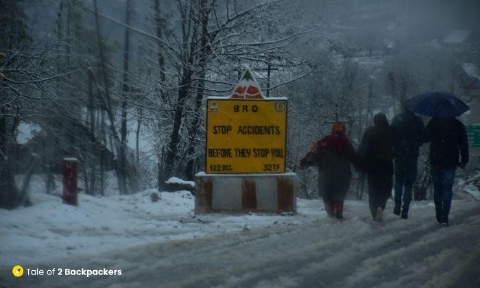 BRO signs on Srinagar Leh Highway
