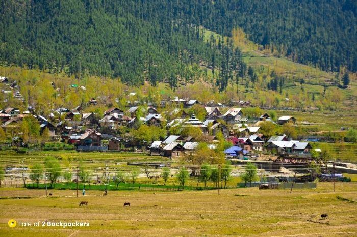 Chandigam village offbeat place in Kashmir