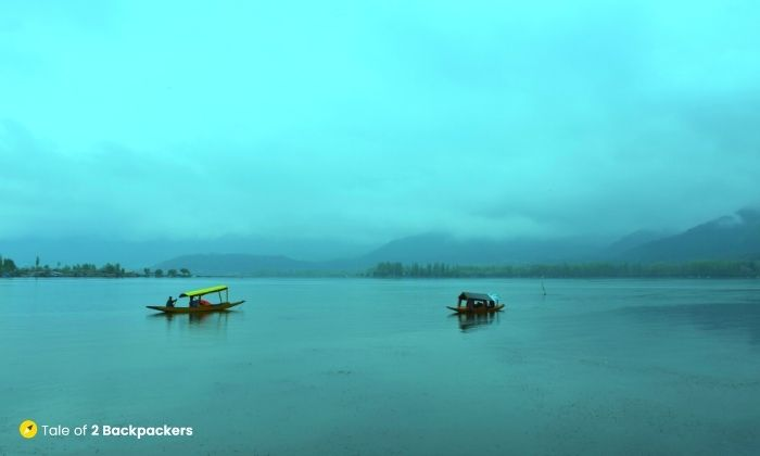 Dal Lake Kashmir where many Bollywood films has been shot