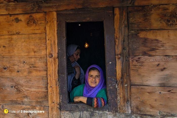 Gujjar Woman at Lolab Valley