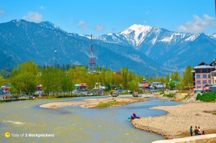 Lahwal River at Lolab Valley