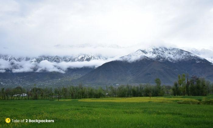 Landscape of Kashmir-Is KAshmir safefor Tourists